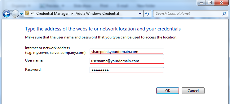 Continuous Password Prompt Window on the SharePoint site