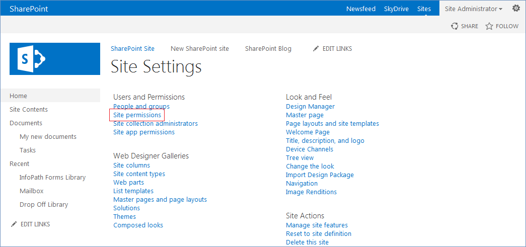 how to create new sharepoint 2013 users group and add