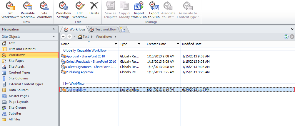 How to enable workflow visualization at the sharepoint site how to enable workflow visualization at the sharepoint site sharepoint 2010 pronofoot35fo Images