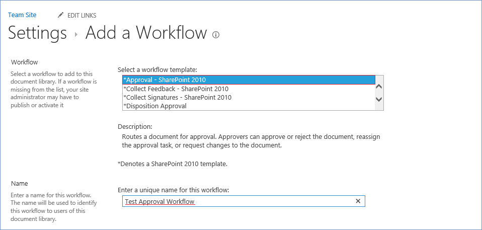How to create a SharePoint 2010 Approval workflow at the ...
